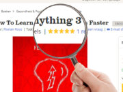 5 star review of How to learn anything 3 times faster