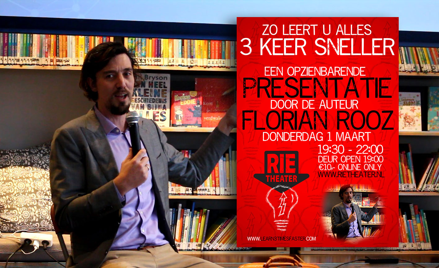 Extreme learning workshops with Florian Rooz - learn any skill 3 times faster