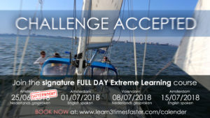 (SOLD OUT) challenge accepted - The signature FULL DAY Extreme learning course with Florian Rooz @ Sailing Vessel - The Spirit of Amsterdam | Amsterdam | Noord-Holland | Netherlands