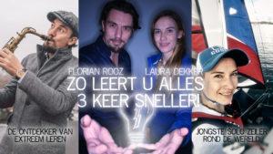 Zo leert u alles 3 keer sneller - Florian Rooz & Laura Dekker @ Theater de Schalm - Veldhoven | Veldhoven | Noord-Brabant | Netherlands